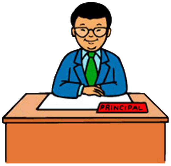 collection of principal. Manager clipart school management