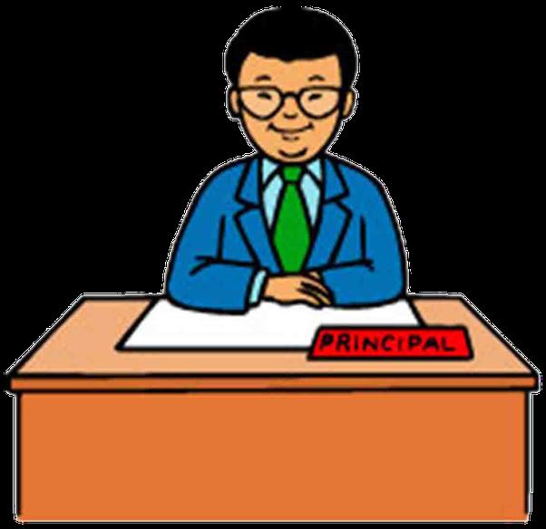 essay clipart school administrator #101047810