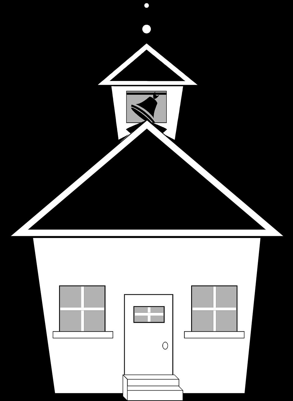 Schoolhouse clipart schhol. School free stock photo