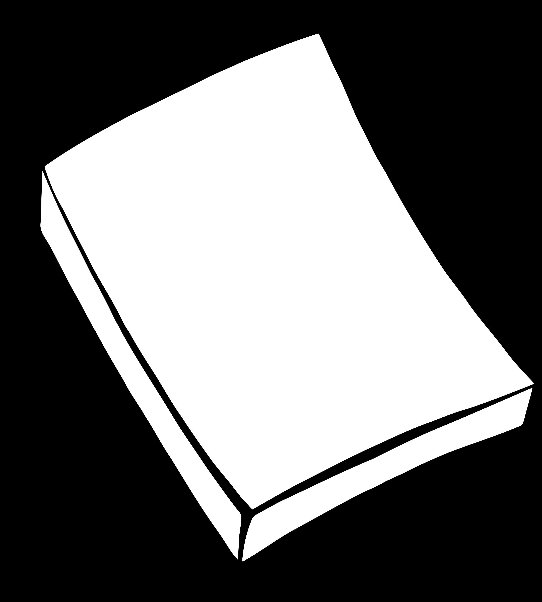 Paper clipart black and white. Memo pad big image