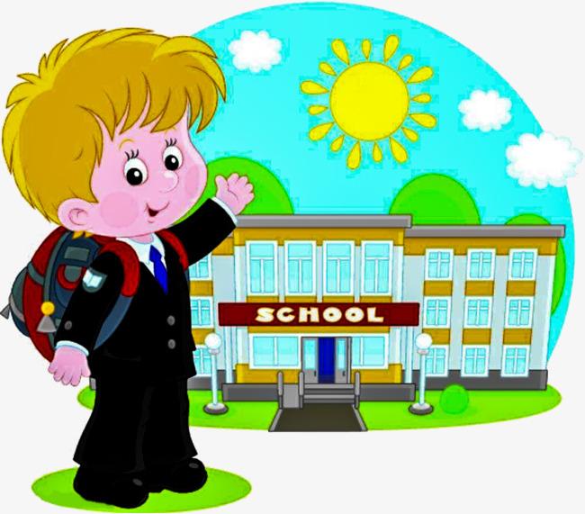 Morning clipart school. Portal
