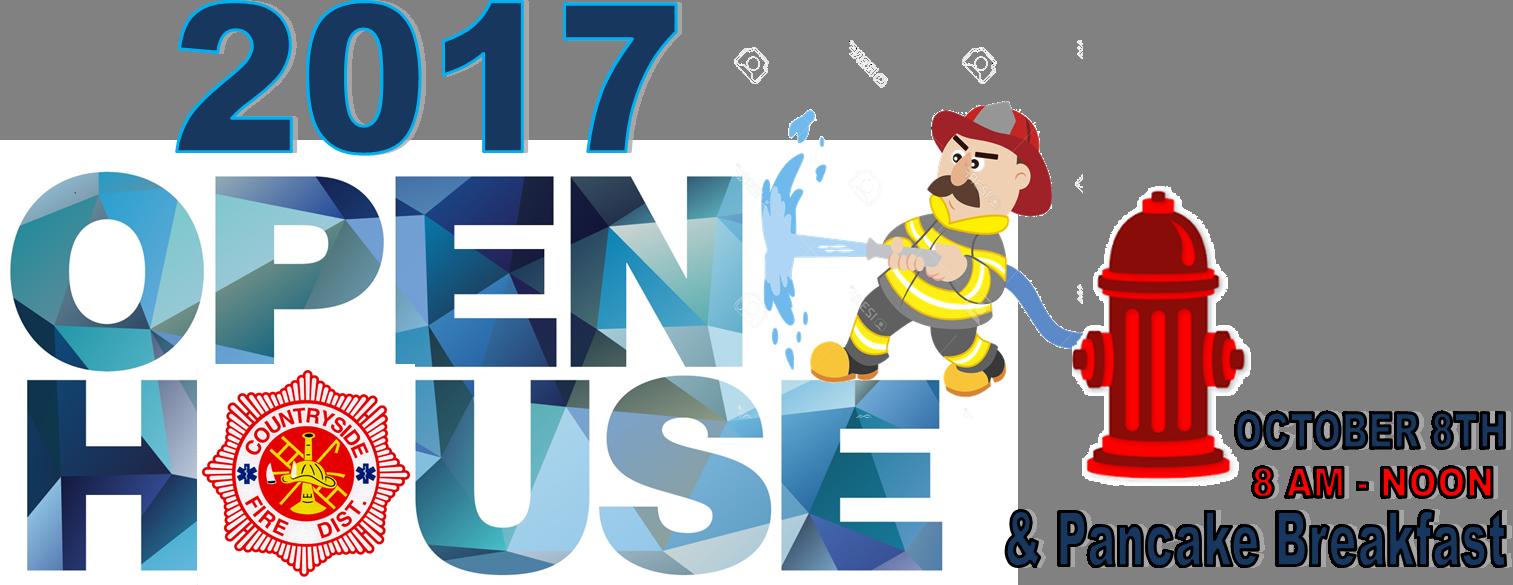 Pancake breakfast open house. Fireman clipart fire inspection