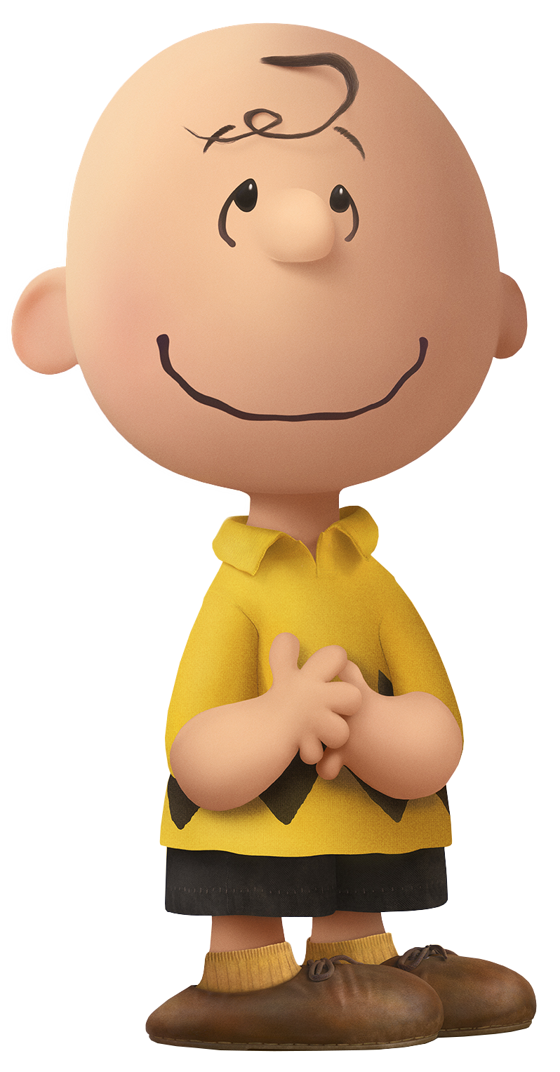 Charlie brown the movie. Peanuts clipart transparent background