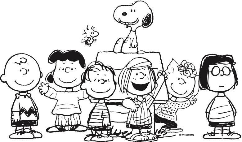 Peanuts clipart school. Clip art gang class