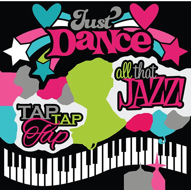 Dance clipart school dance. Just svg scrapook collection
