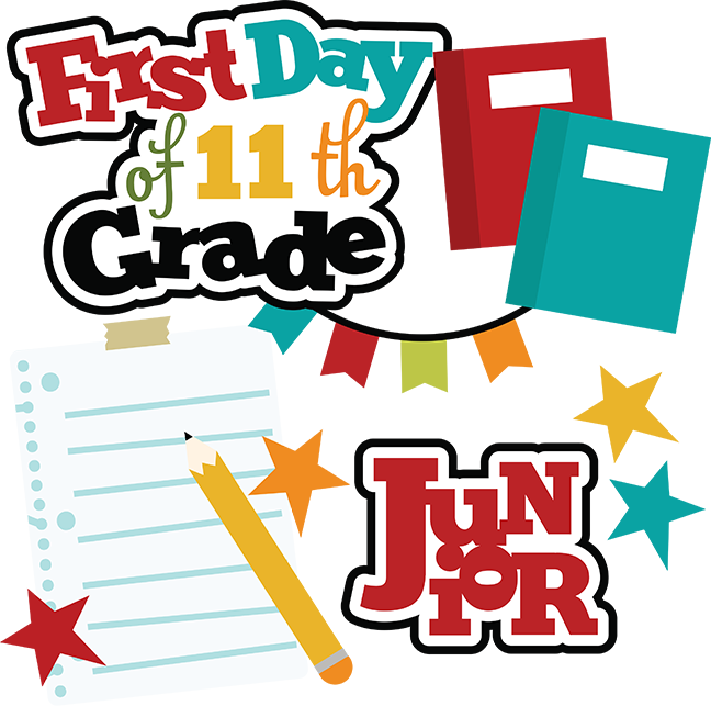 First day of th. Grades clipart 11th