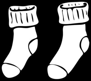 Clipart socks school. Clip art at clker