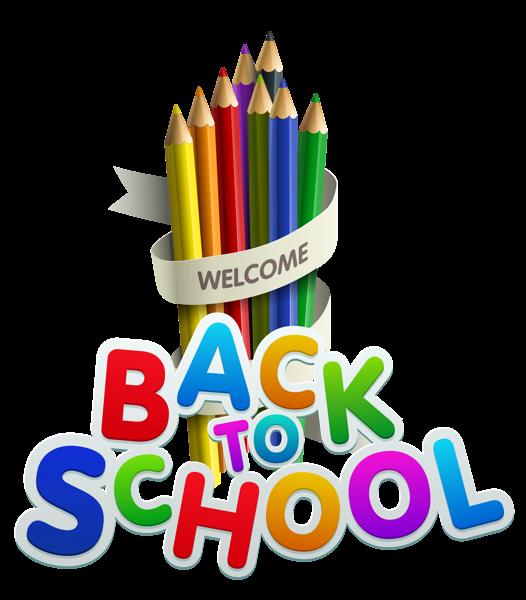Back to school transparent. Kindergarten clipart welcome