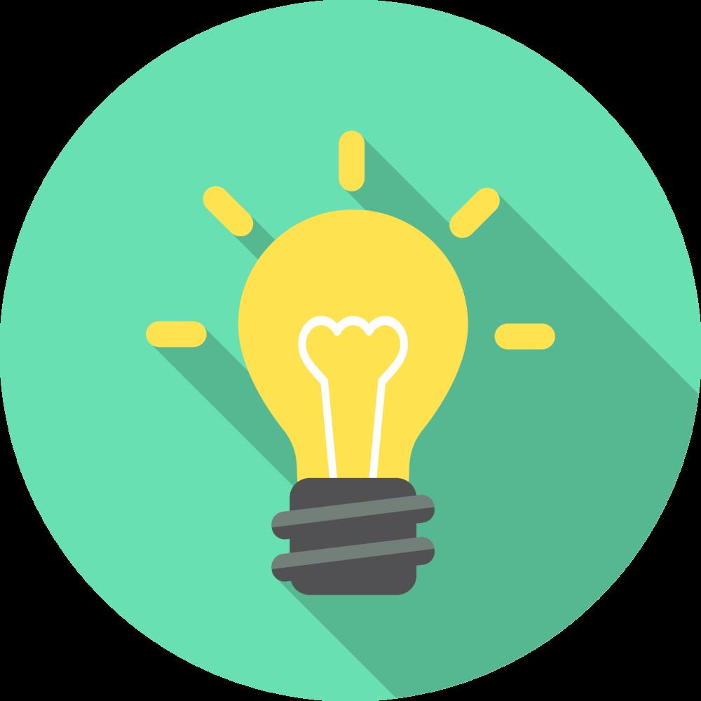 Middle school houston academy. Lightbulb clipart educational technology
