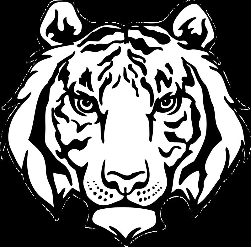 Cannonsburg elementary challenge k. Clipart tiger school