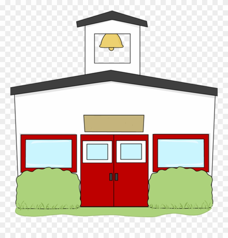 School building bird hatenylo. Schoolhouse clipart clear background
