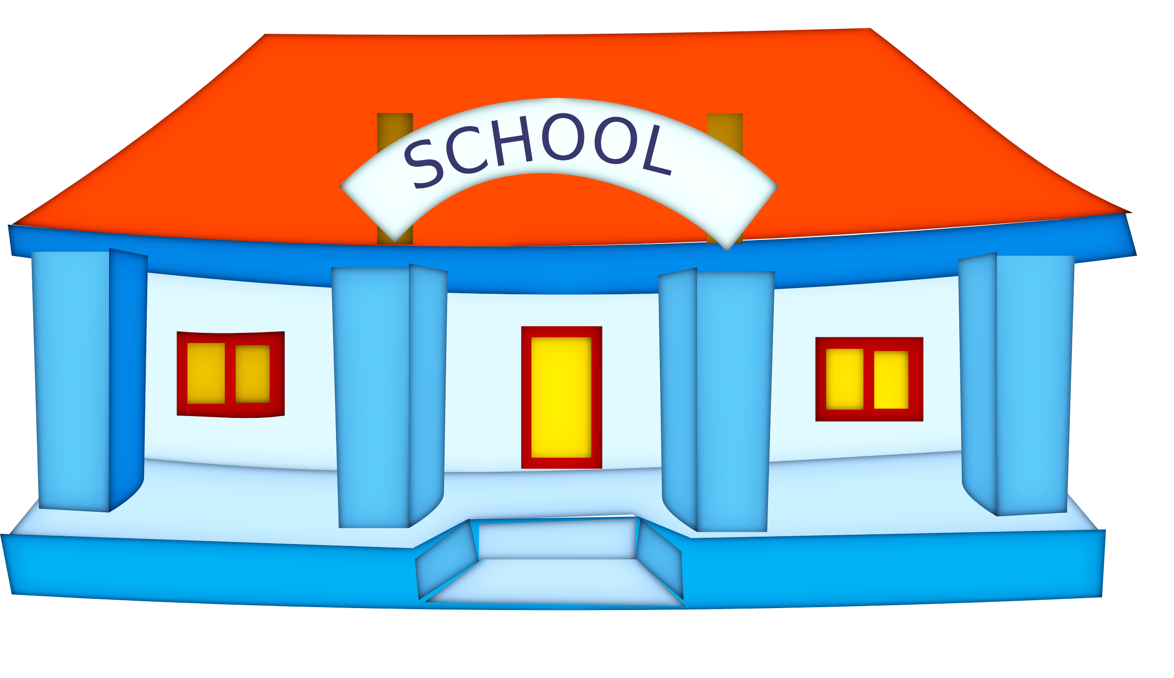 collection of no. College clipart middle school