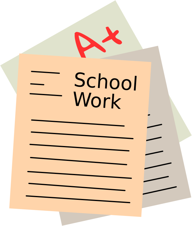 Work image group free. Folder clipart school papers
