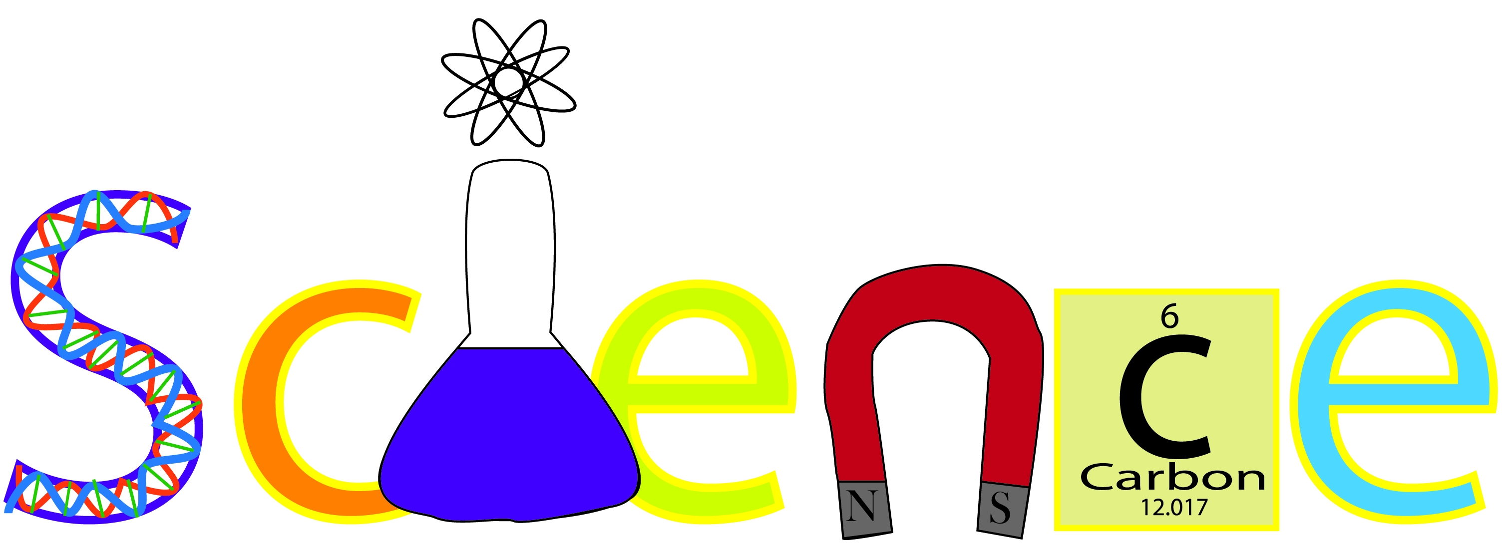 Free science word cliparts. Words clipart project