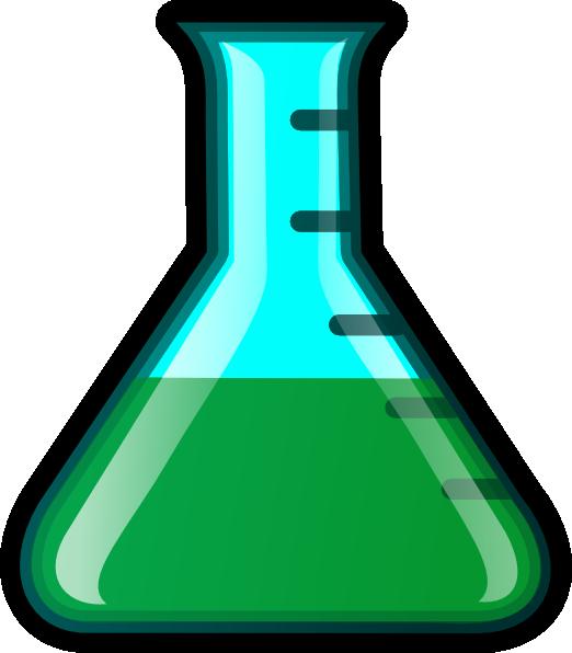 Clip art at clker. Green clipart beaker