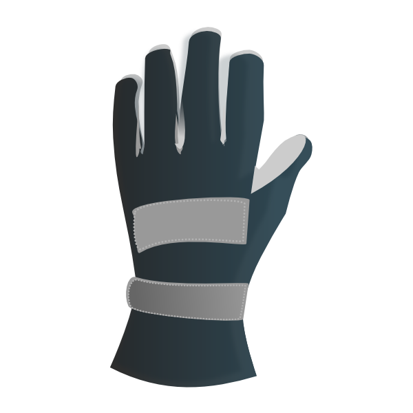 Racing gloves clip art. Clipart science glove