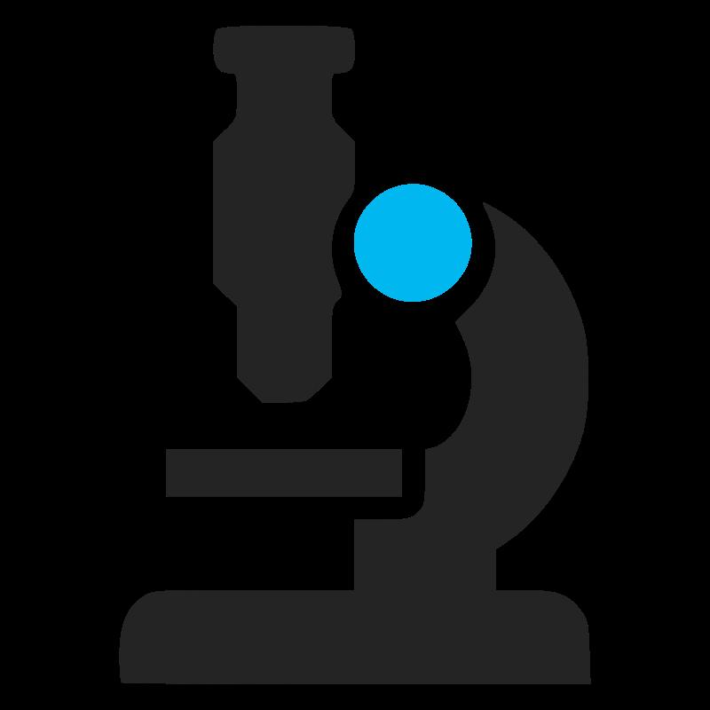 Scientist clipart microscope. Icon medium image png