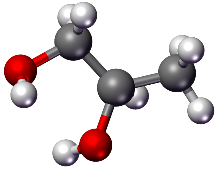 Demystifying ingredients the glycols. Water clipart compound
