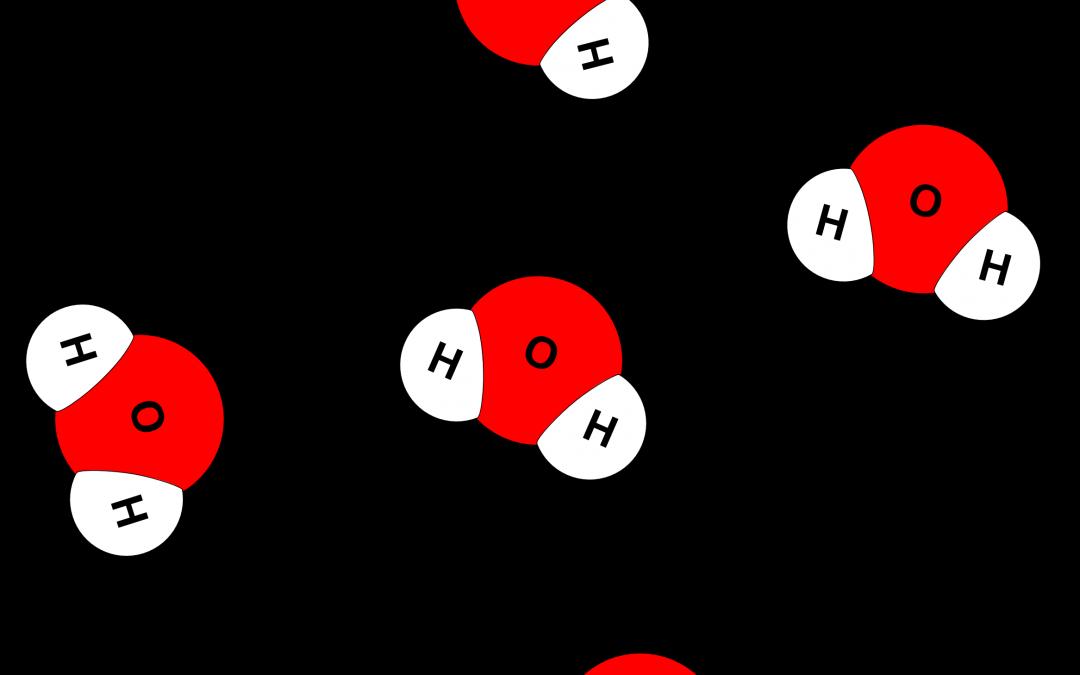 Molecule model building activity. Water clipart compound