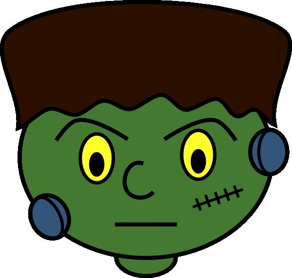 Young frankenstein monster clip. Coffin clipart cartoon