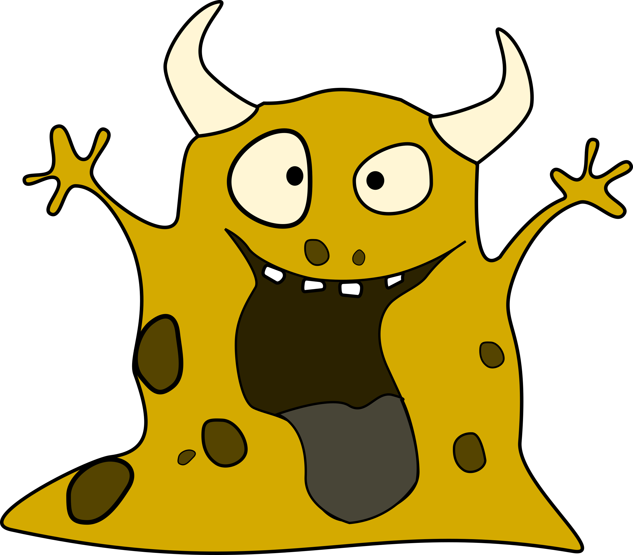 Clipart science monster. Big image png