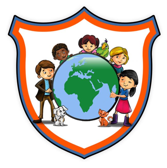Spanish immersion camp at. Hike clipart summer fun kid
