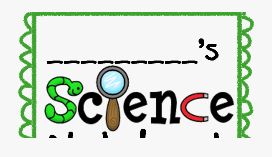 Science cover . Notebook clipart scince