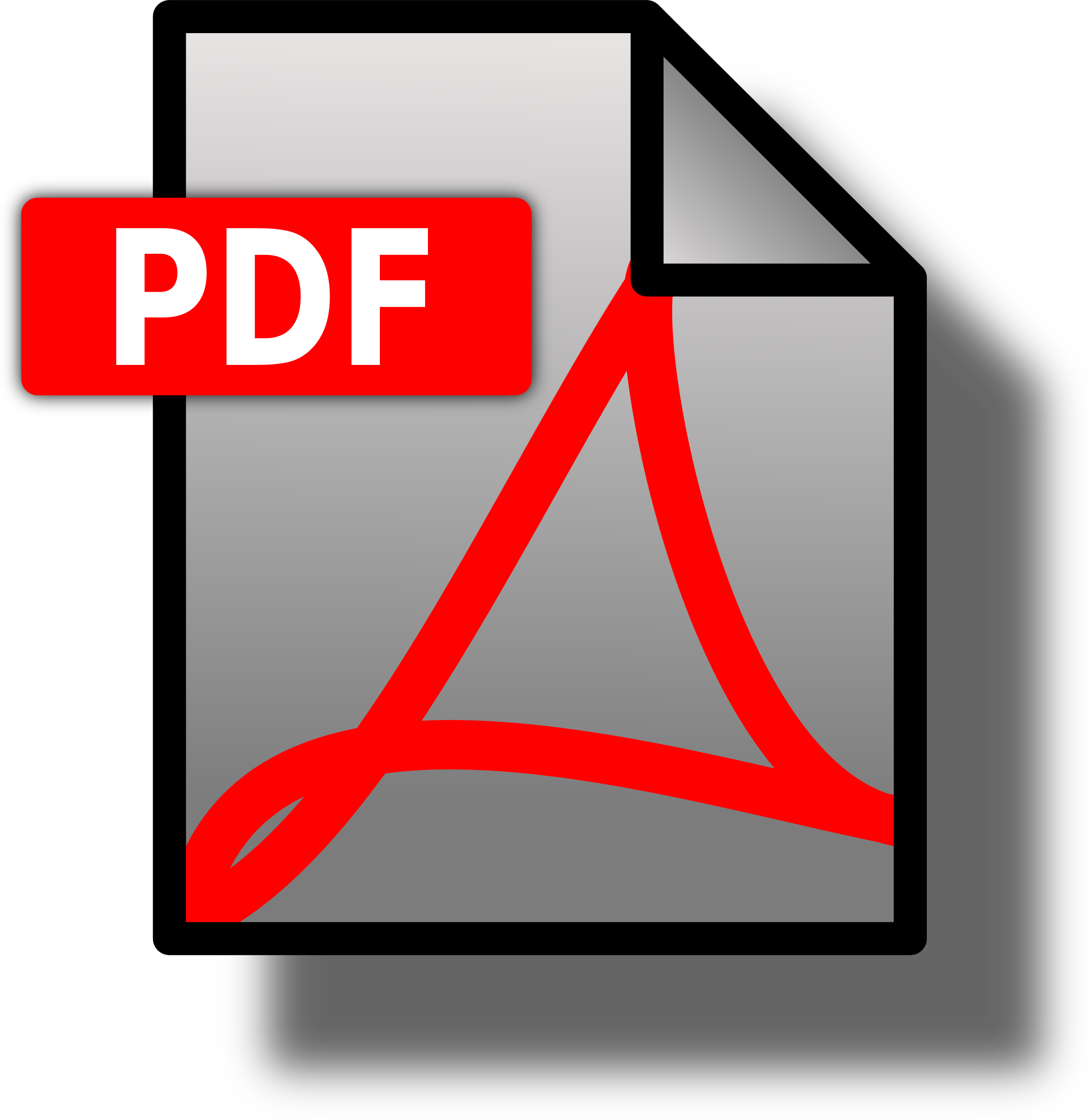 Icon pdf icons png. Photo clipart file