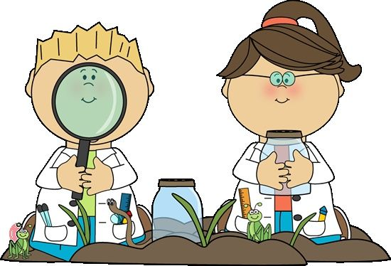Ice and snow discovery. Preschool clipart science