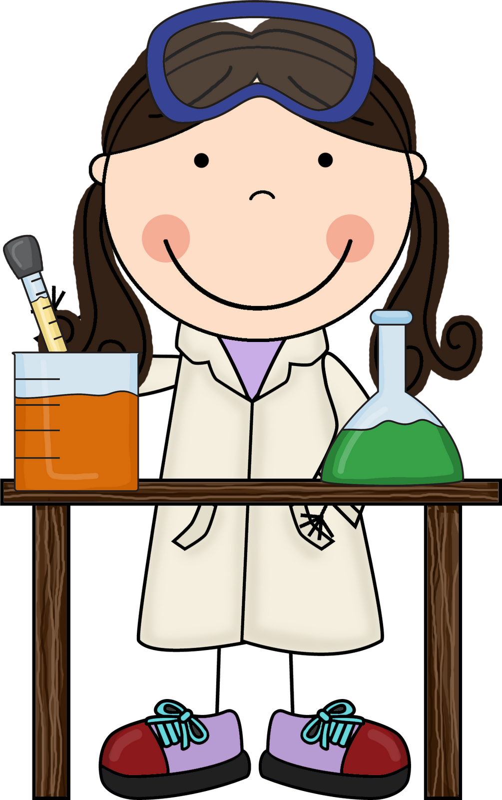 Collaboration clipart science conclusion. Cliparthot of scientists and