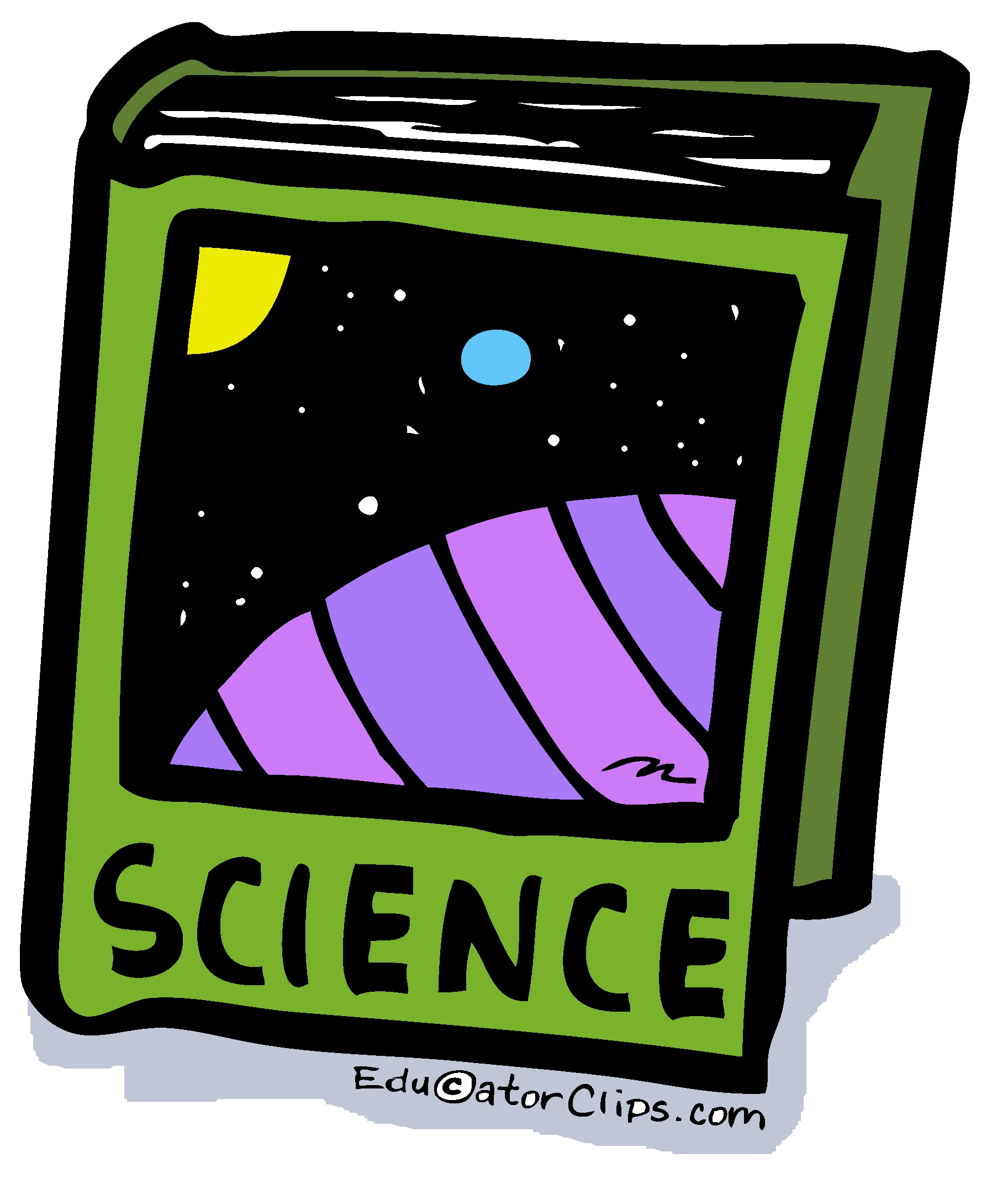 Book clip art . Textbook clipart science textbook