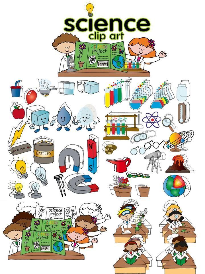 Experiment clipart science education science. Clip art set thirdgradetroop