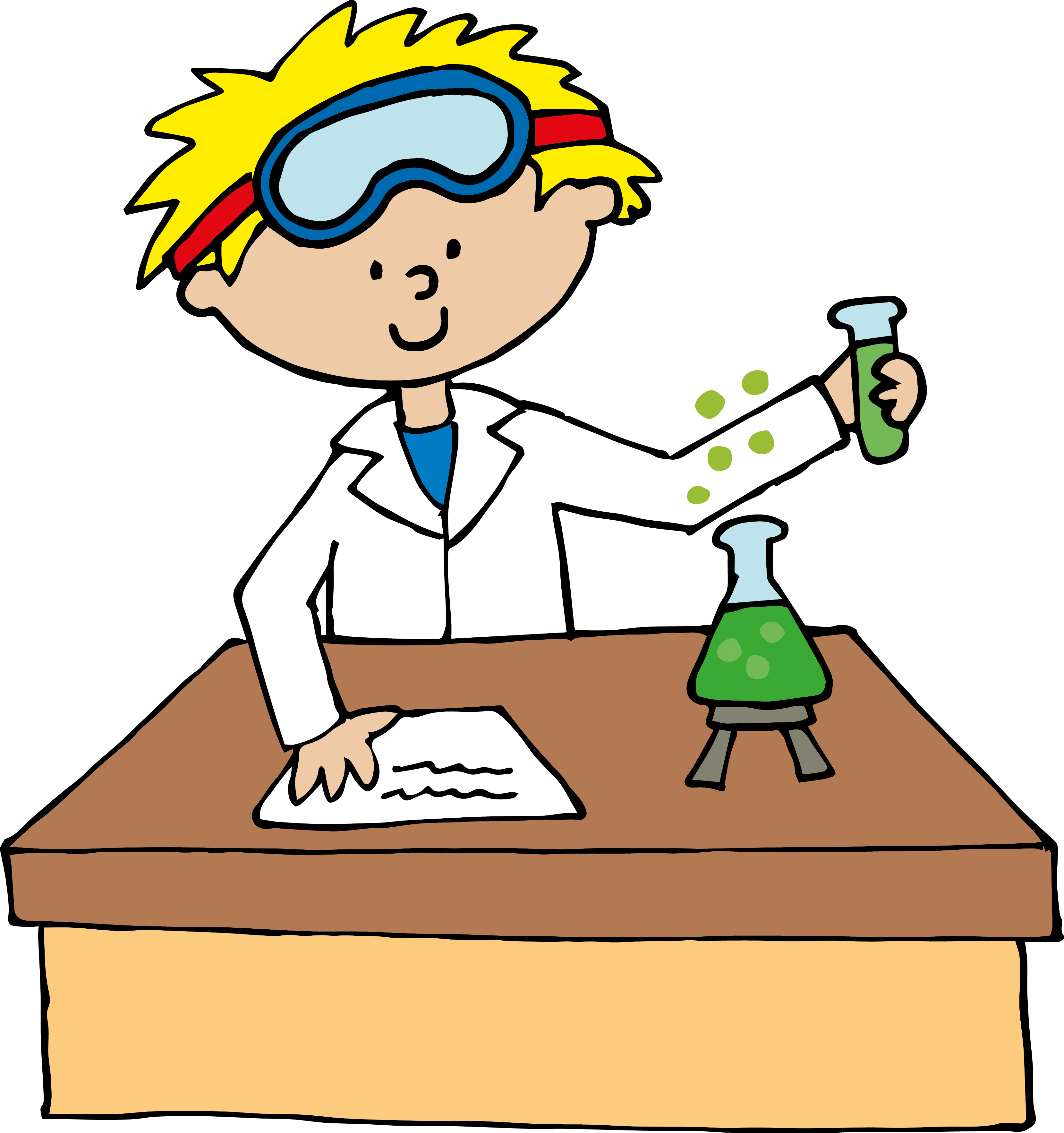 Elegant of experiment letters. Journal clipart science journal