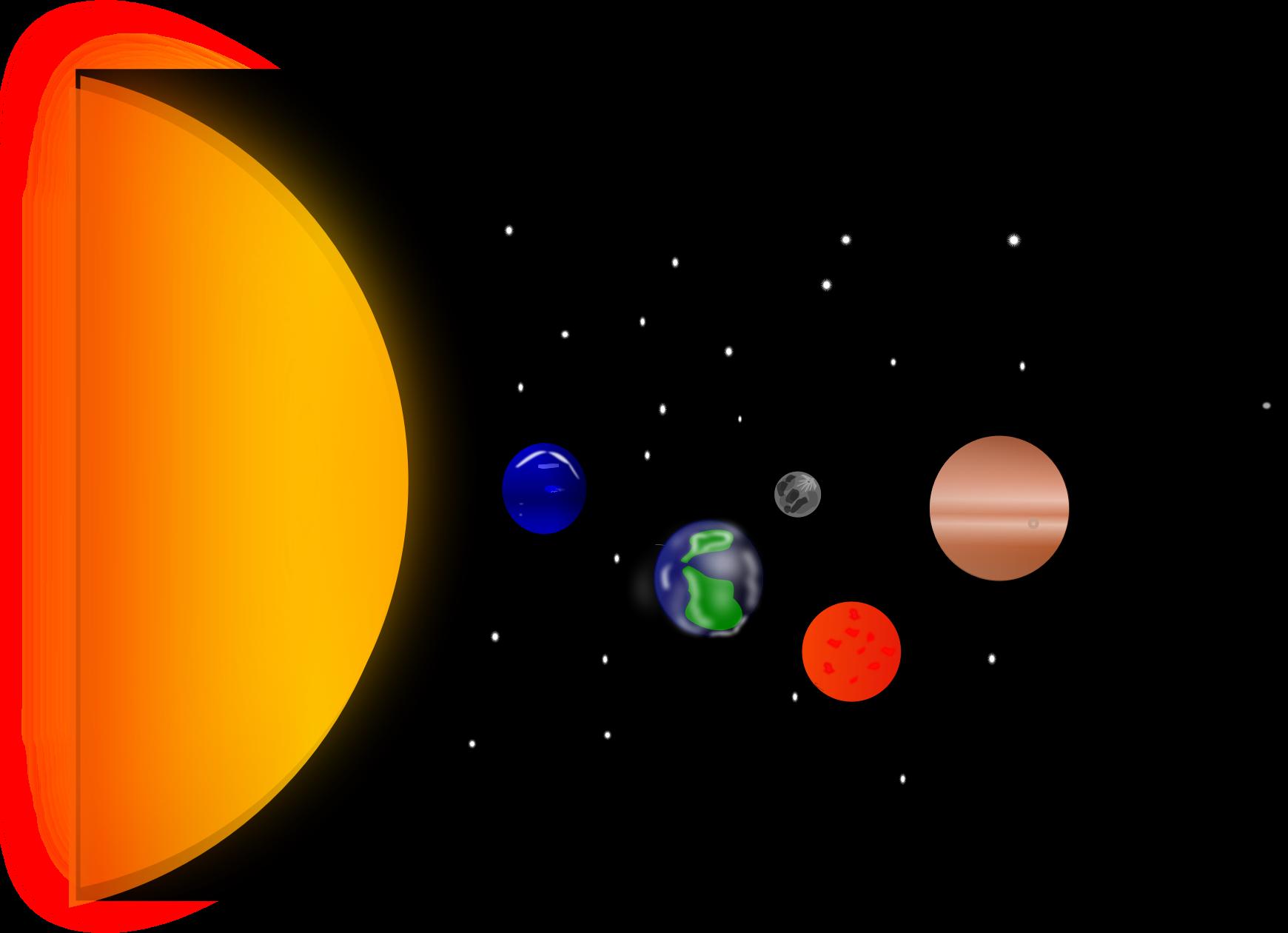 System big image png. Planets clipart solar sytem
