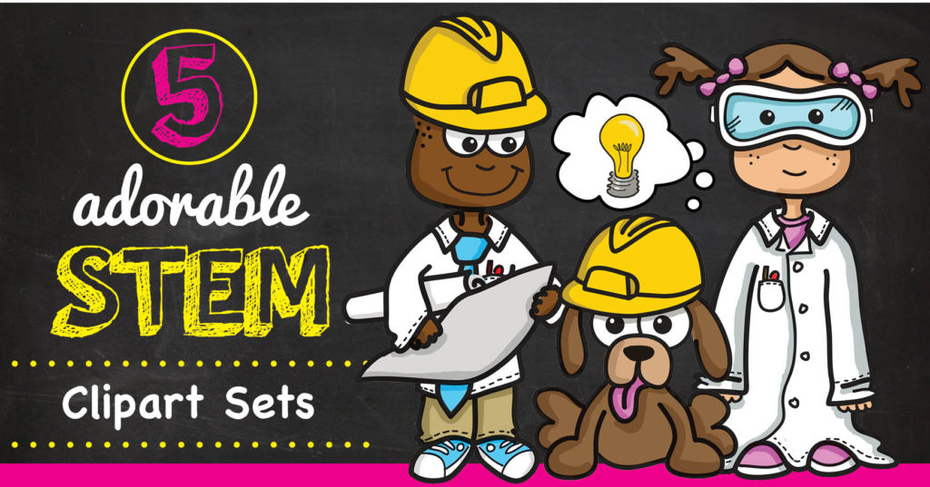 cute and creative. Engineering clipart stem lab