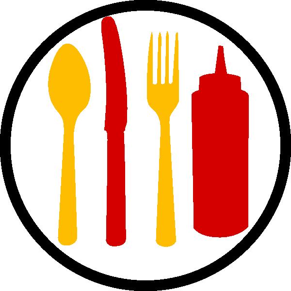 Cookbook clipart utensils. Restraunt clip art at