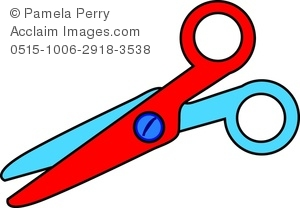 Clip art image of. Clipart scissors