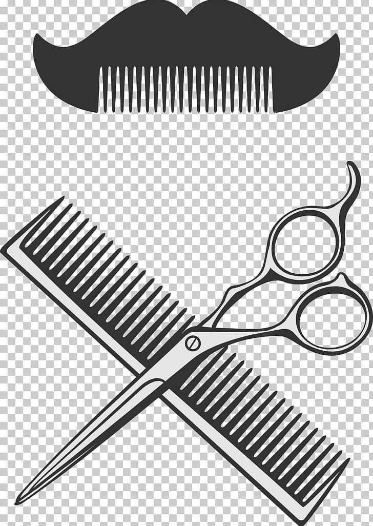 Comb png barbershop . Clipart scissors barber pole