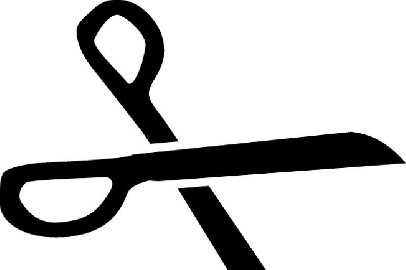 Clipart scissors cartoon. Free download best black