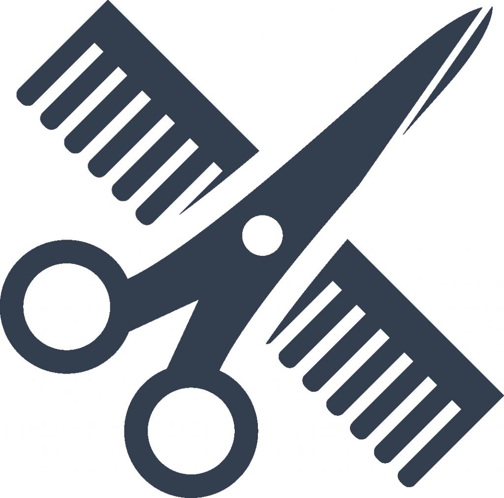 Scissor x png . Clipart scissors comb