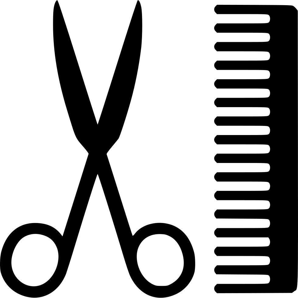Svg png icon free. Clipart scissors comb
