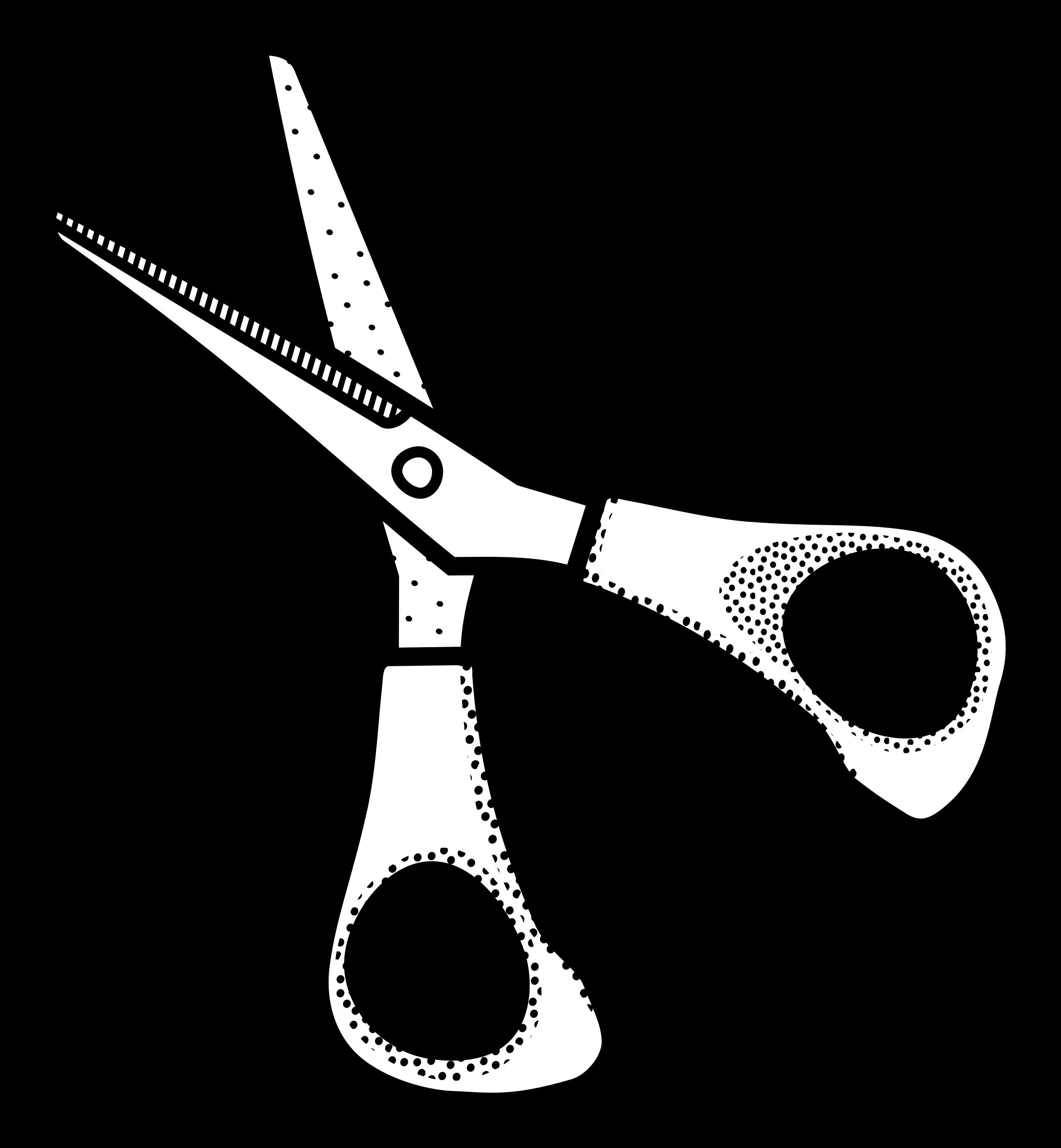 Clipart scissors craft scissors. Lineart big image png
