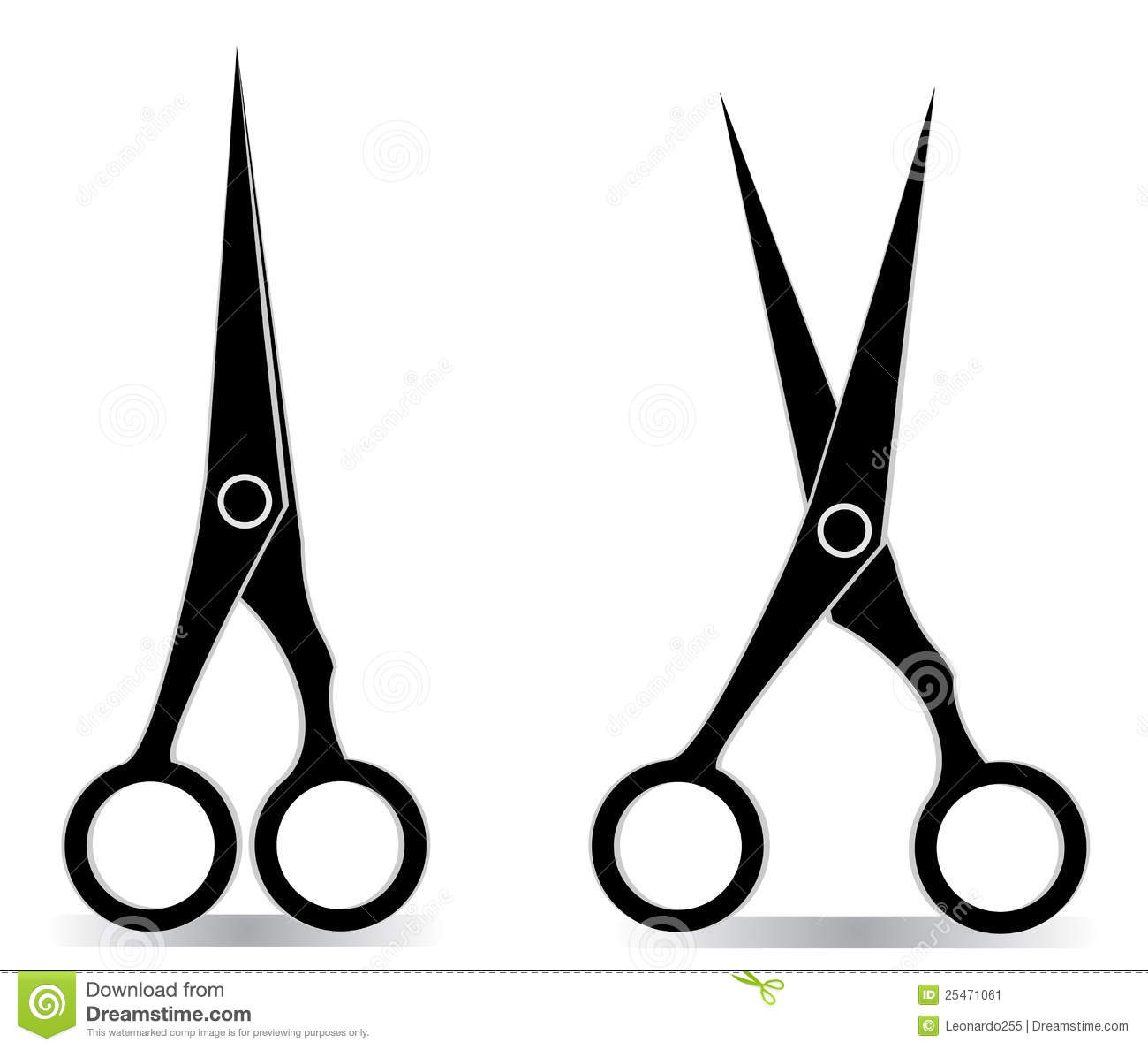 Clipart scissors fancy. Hair free download best