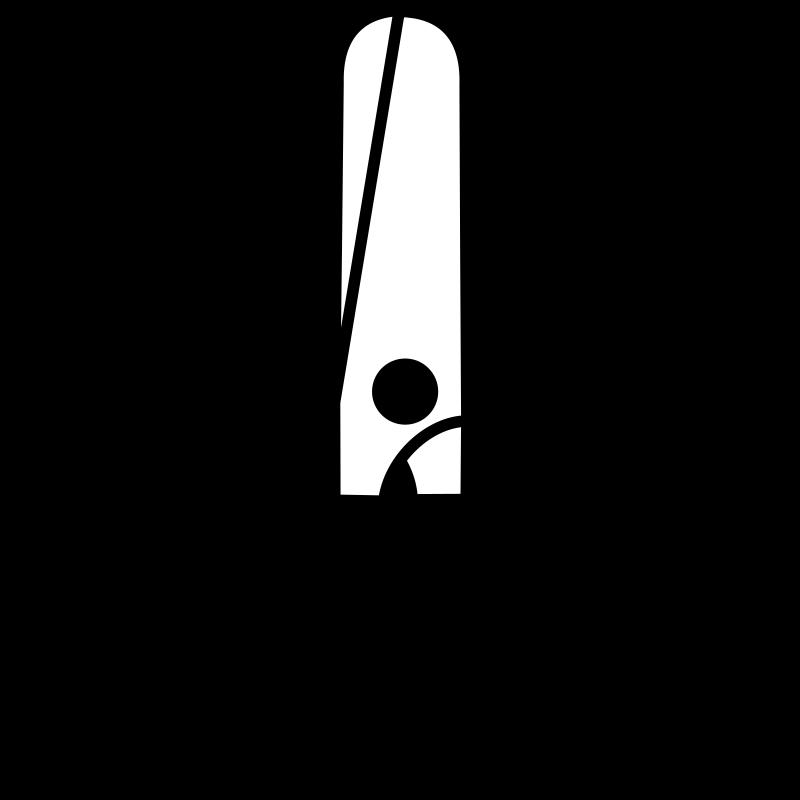 Glue stick black and. Clipart scissors gluestick