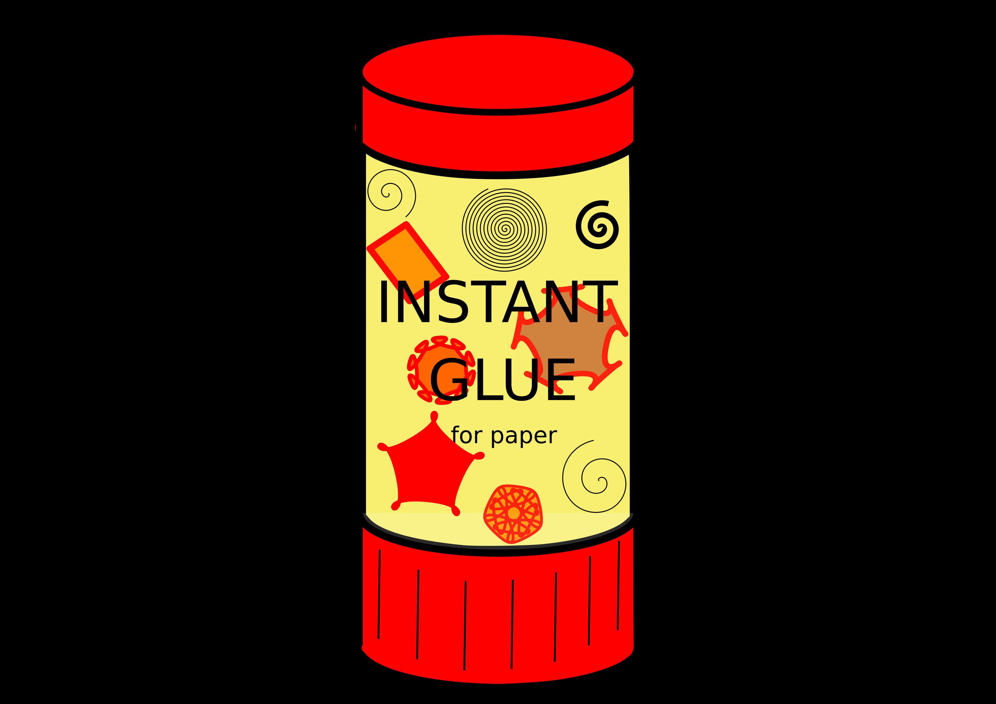 Clipart scissors gluestick. Glue stick icons png