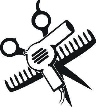 Amazon com and comb. Clipart scissors hair dryer