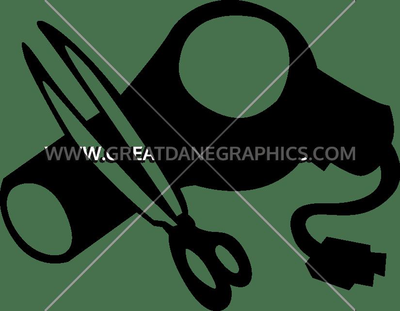 Production ready artwork for. Clipart scissors hair dryer