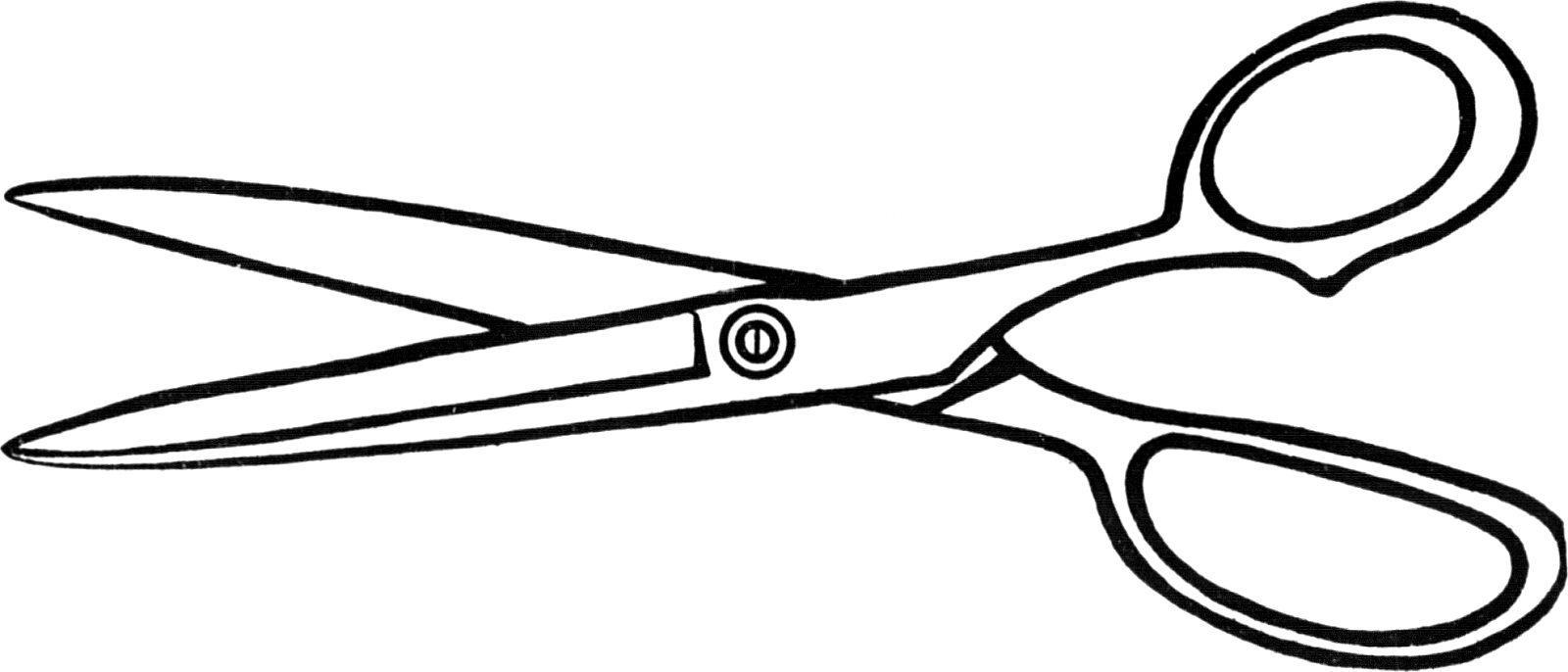 Shears clipart use. Hair scissors black and
