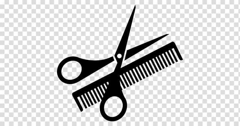 Shears clipart haircut scissors. Comb beauty parlour hairbrush