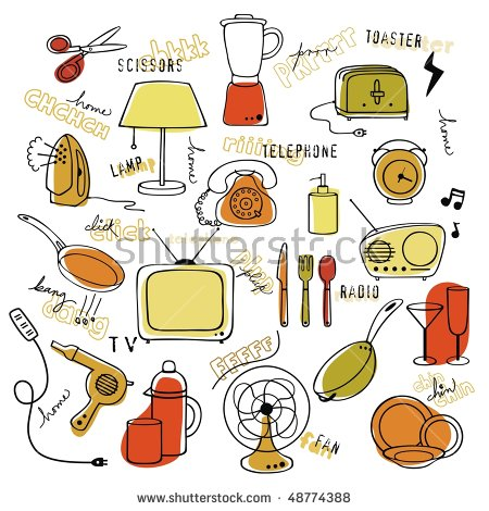 Clipart scissors household object. Items station
